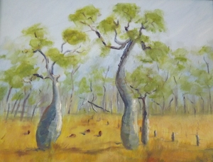 Australian Bottle Trees